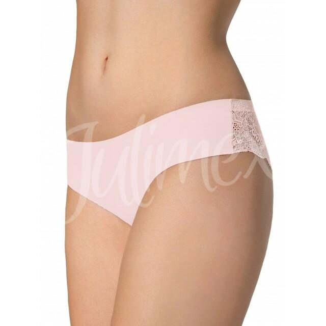 Dámské kalhotky Tanga pink - XL - růžová