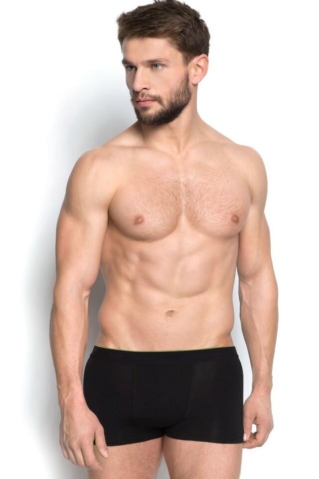 Pánské boxerky 34325 black - XL - černá