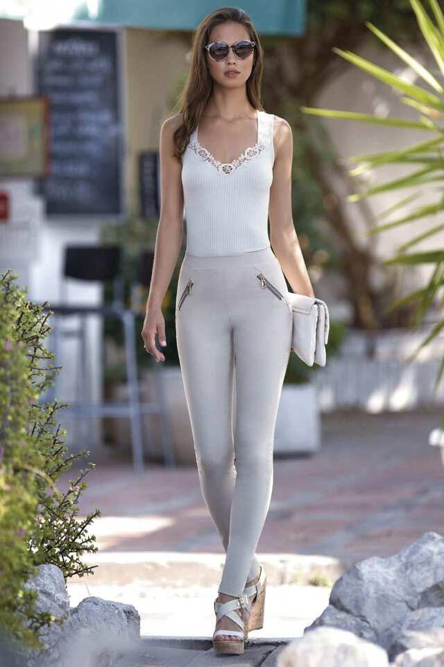 Dámské kalhoty Pants Smart Fit Casual - Janira