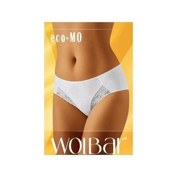 Kalhotky ECO-MO-Wolbar - L - bílá