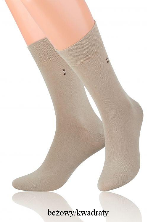 Pánské ponožky k obleku Steven art.056 - 42-44 - béžová