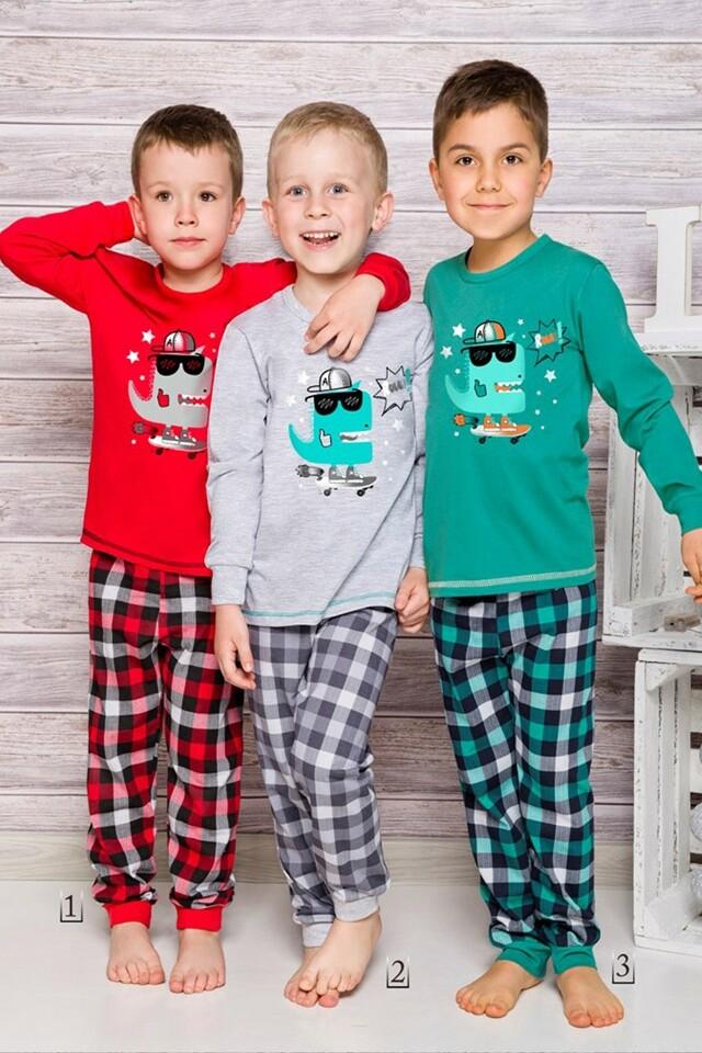 Chlapecké pyžamo 856 grey