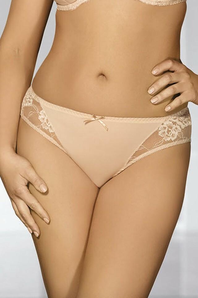 Dámské kalhotky 1261 beige - XL - béžová