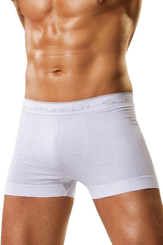 Pánské boxerky Boxer Brubeck bílé - XXL