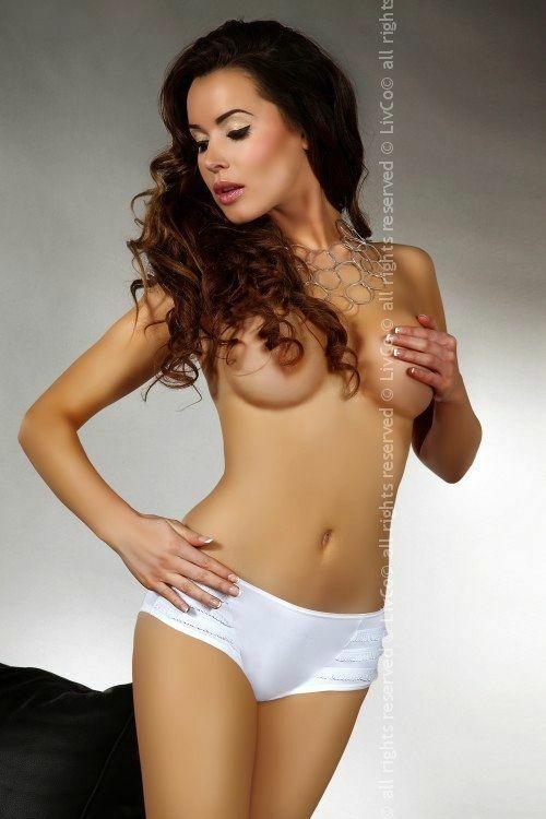 Kalhotky Tassia - Livia Corsetti - XL - bílá