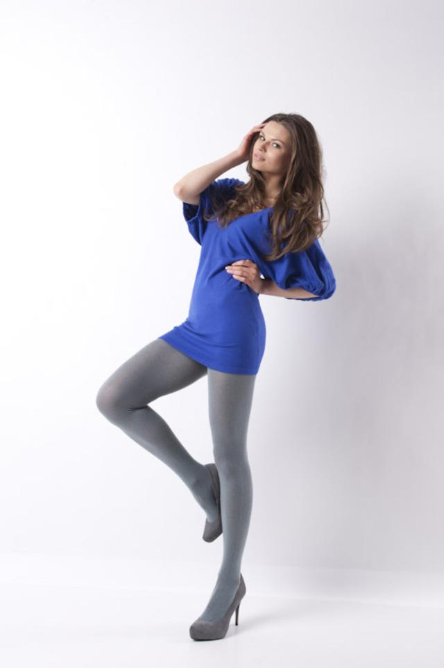 Punčochové kalhoty AKRYL - MONA - černá - 2-S