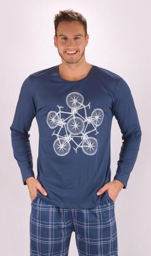 Pánské pyžamo dlouhé Bicycle