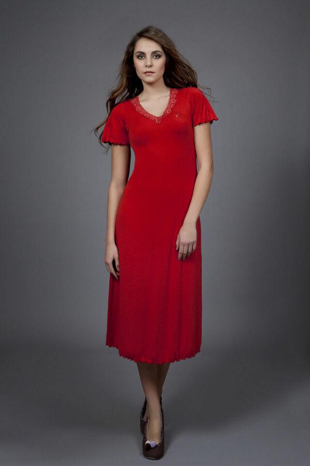 Dámská noční košile 1508 - Vamp - M - oranžová
