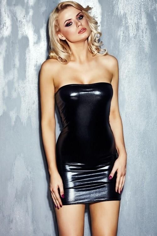 Dámské šaty Rena - S/M - černá