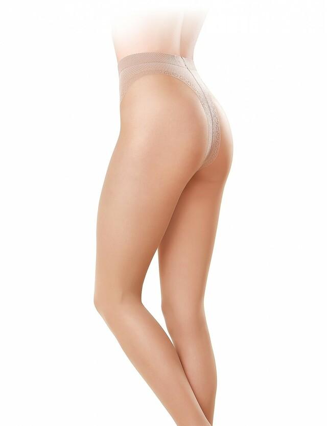 Punčochové kalhoty Gatta Slim Line 20 den - 2-S - zlatá/odstín béžové
