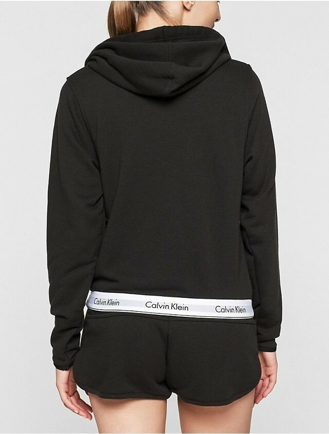Dámská mikina QF5667E - Calvin Klein - L - černá