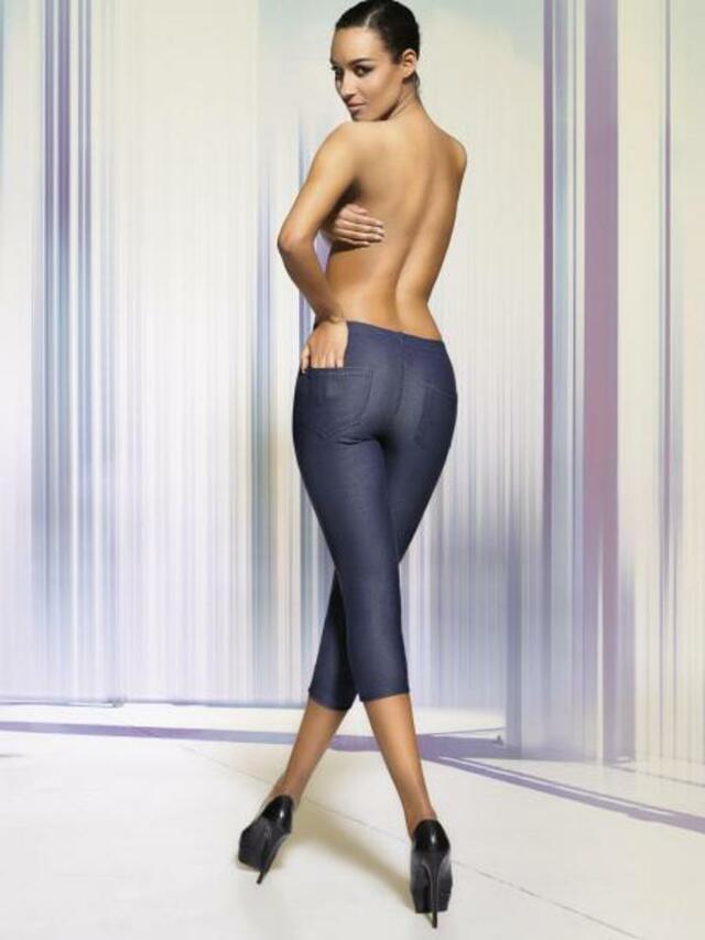 Dámské legíny ALESTA - DAREX - M - jeans