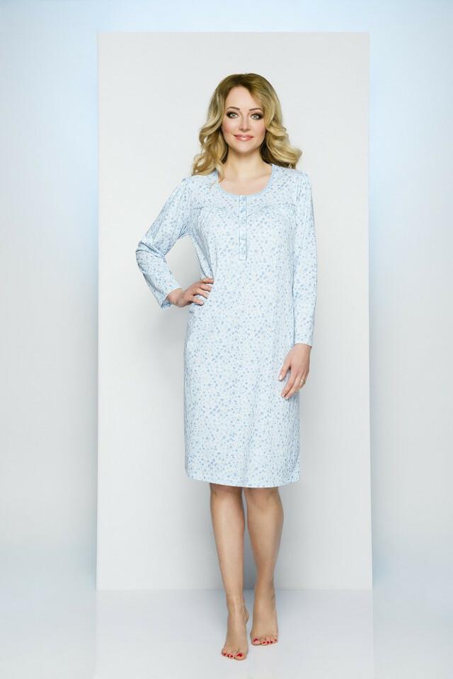 Noční košile Regina 055 M-XL dł/r - L - mix