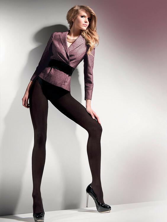 Punčochové kalhoty Gabriella Cotton 176 250 den 5-XL