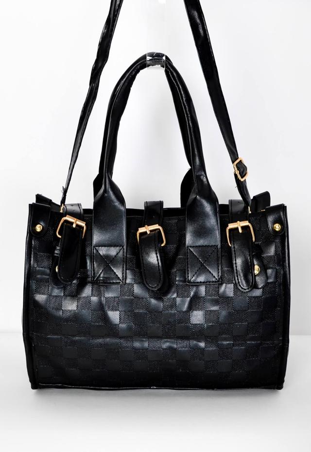 2dfc736ef5 Černá dámská kabelka s uchy - univerzální - Černá