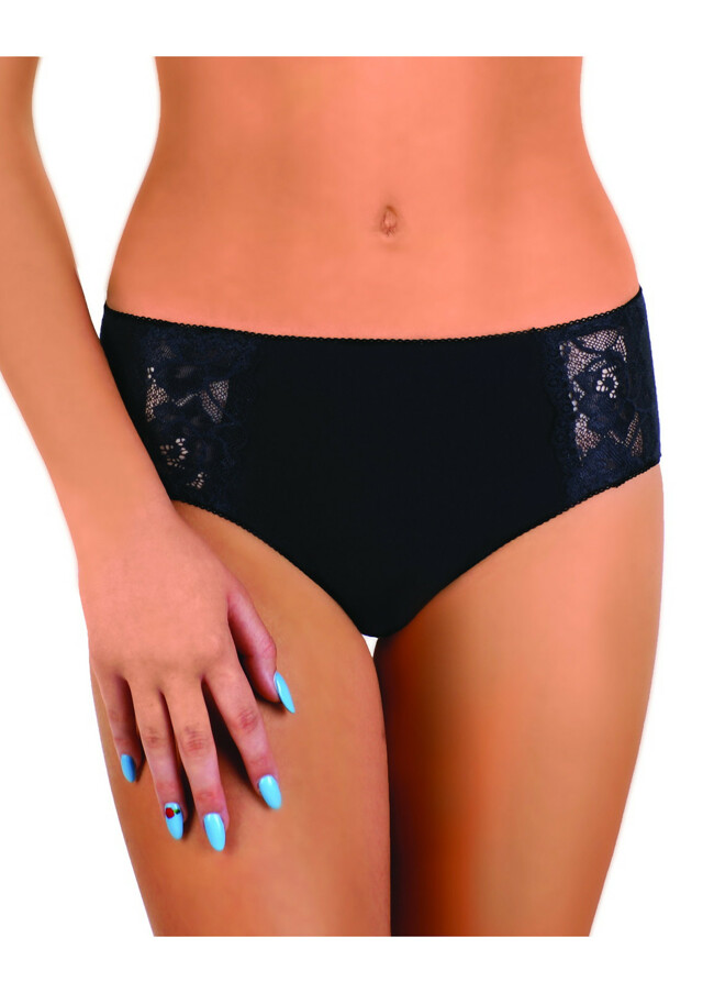 Dámské kalhotky Modo nr 95 - S - černá