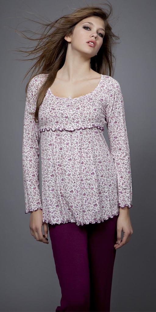 Dámské pyžamo 1492 - Vamp - XXL - fialová