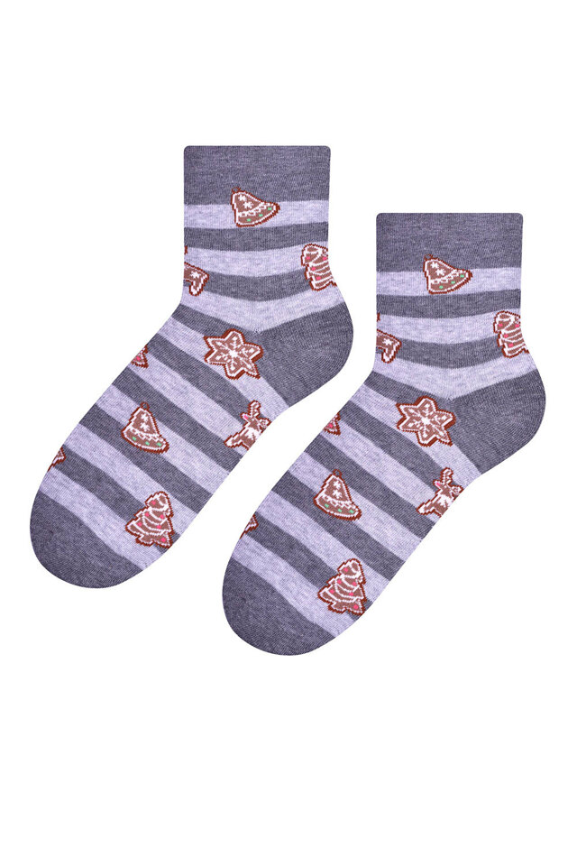 Dámské ponožky Steven 099-514 - 35-37 - světle šedá 8983682bc2