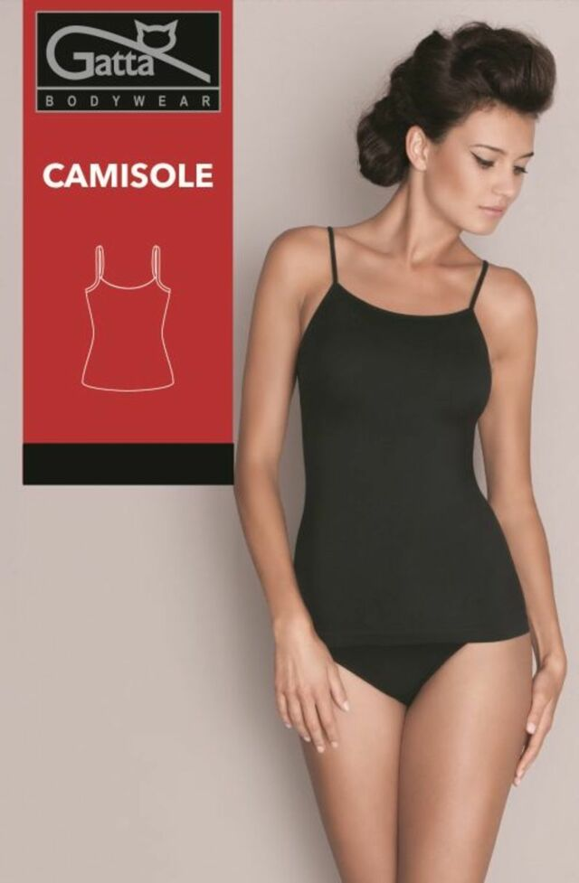 Dámská košilka/tílko - CAMISOLE 60DEN - černá - M