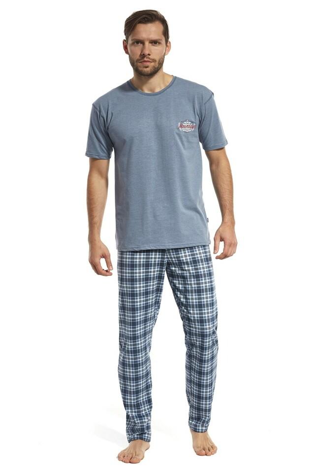 Pánské pyžamo 134/98 Mountain - S - melanž