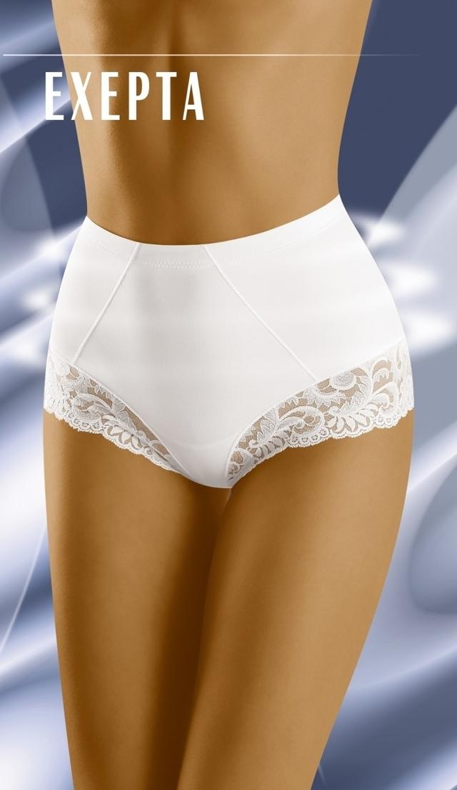 Stahovací kalhotky Exepta white - XXL - bílá