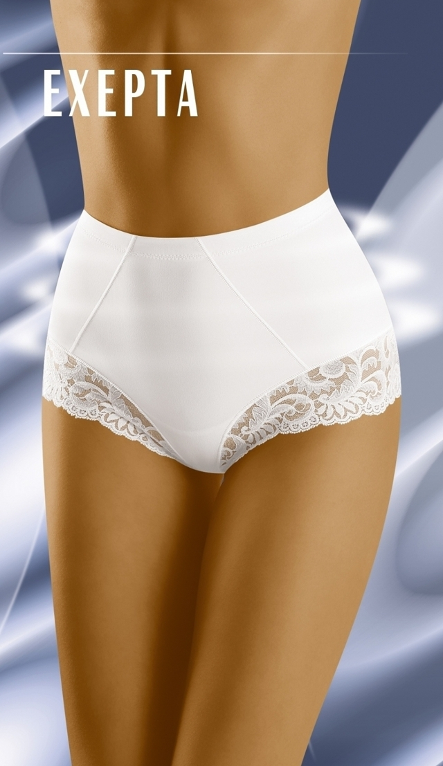 Stahovací kalhotky Exepta white