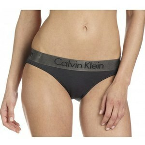 Kalhotky F3764E - Calvin Klein - L - tmavě šedá
