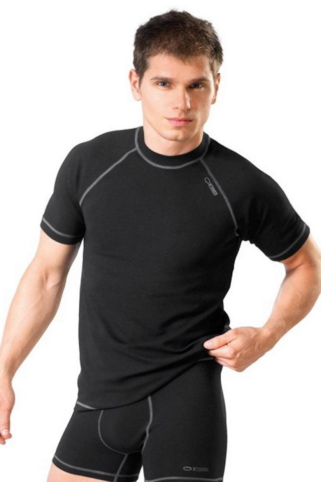 Pánské tričko Classic V - Gwinner - L - černá