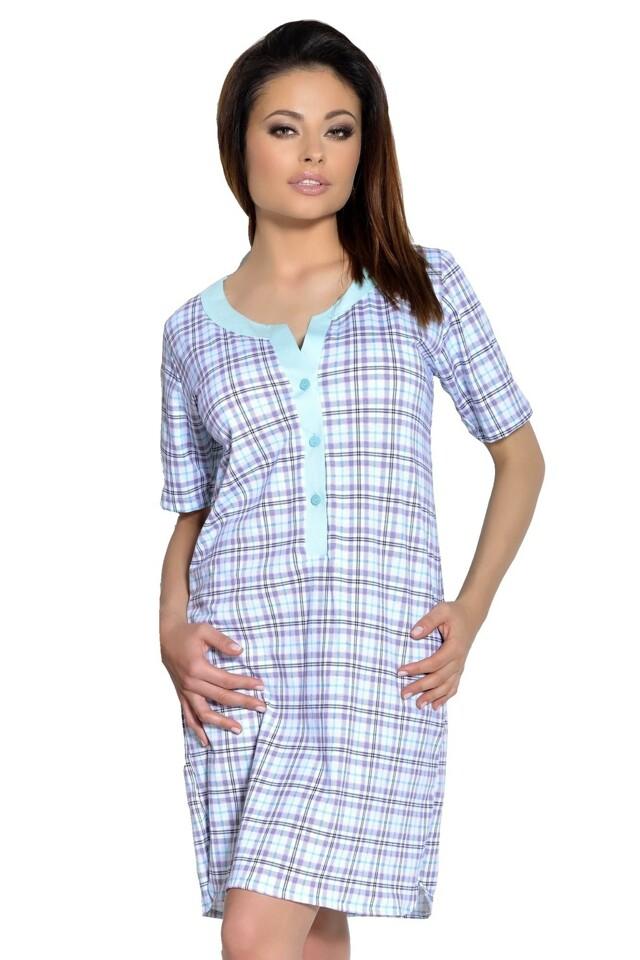 Dámská noční košile Marcela mint - S