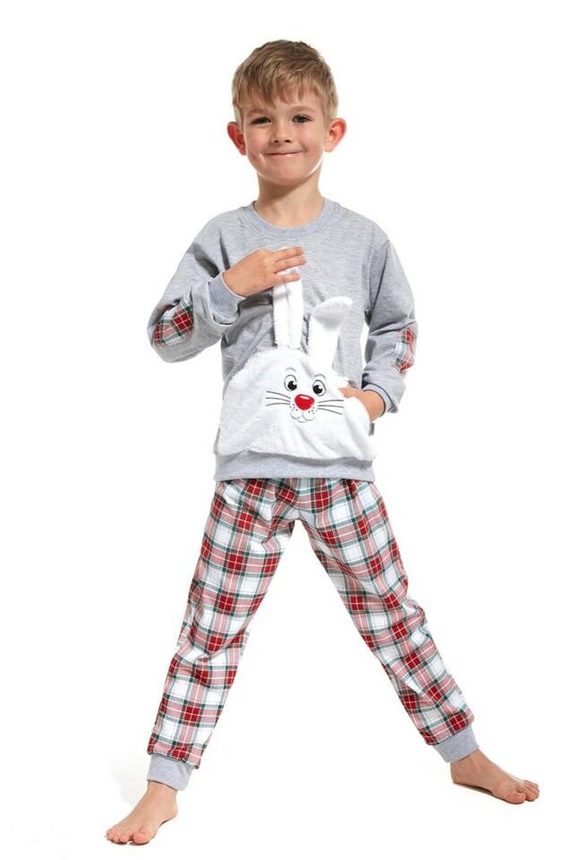 Chlapecké pyžamo 589/62 Hop grey