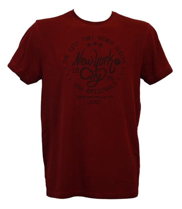 Pánské tričko 547001H - vínová - Jockey - L - vínová