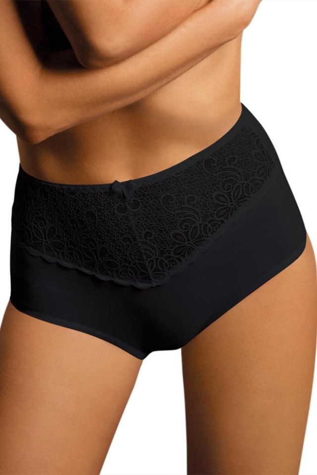 Dámské kalhotky 038 black - M - černá
