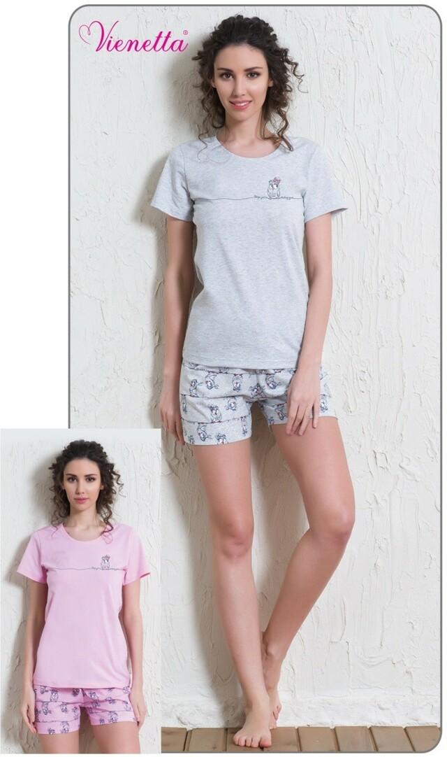 Dámské pyžamo šortky Malá sova