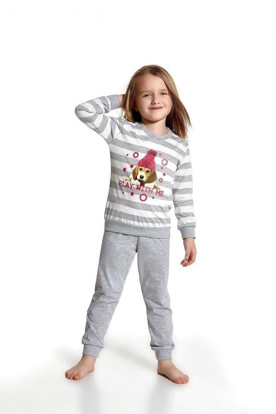 Dívčí pyžamo Young Girl 592/49 Play With Me - Cornette