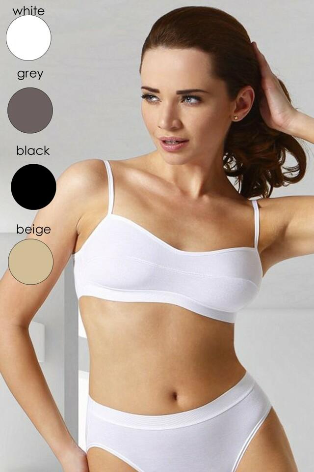 Fitness top Stella black - M - černá