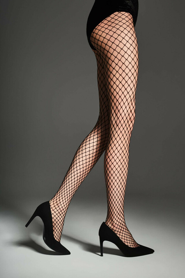 Punčochové kalhoty Fiore Myrna - 3-M - black