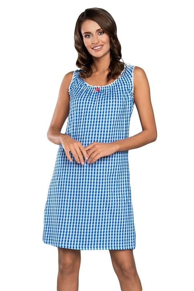 Noční košilka Kamila modrá - XL