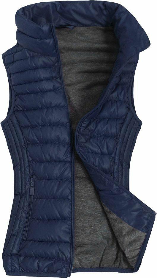 Tmavě modrá vesta (R2688BIG) - 50 - tmavěmodrá