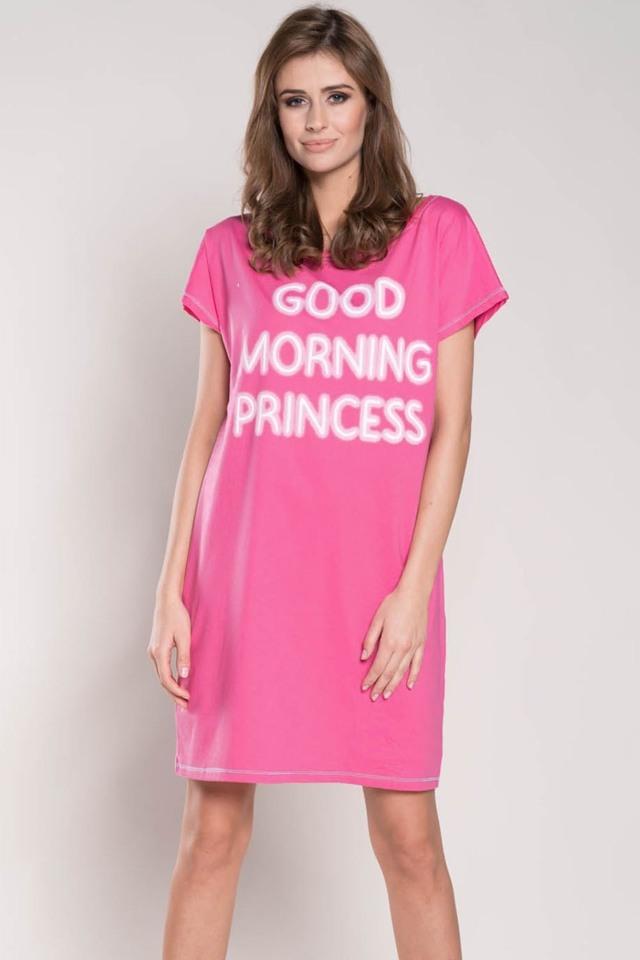 Dámská noční košile Italian Fashion Karena kr.r. - L - růžová