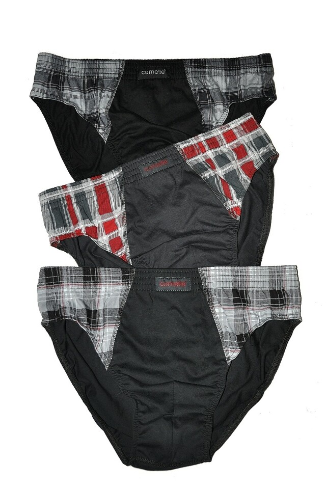 Slipy Cornette Comfort 3-Pack A'3 2XL-3XL