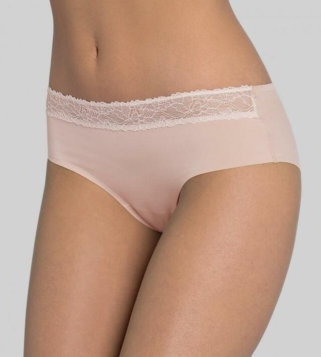 Dámské kalhotky sloggi Wow Lace Hipster - 036 - nově béžová (00LZ)