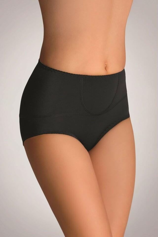 Dámské kalhotky Vivien plus black - 3XL - černá
