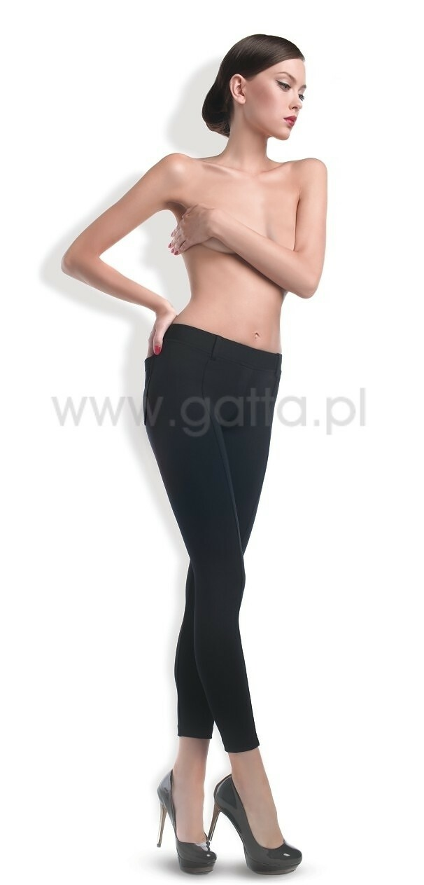 Dámské kalhoty Gatta Trendy Černé 44458,44459 - M - černá