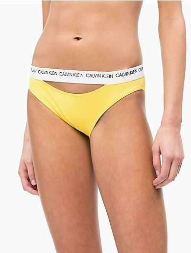 5825c789e Spodní díl plavek KW0KW00658 žlutá - Calvin Klein(1196422) - 1