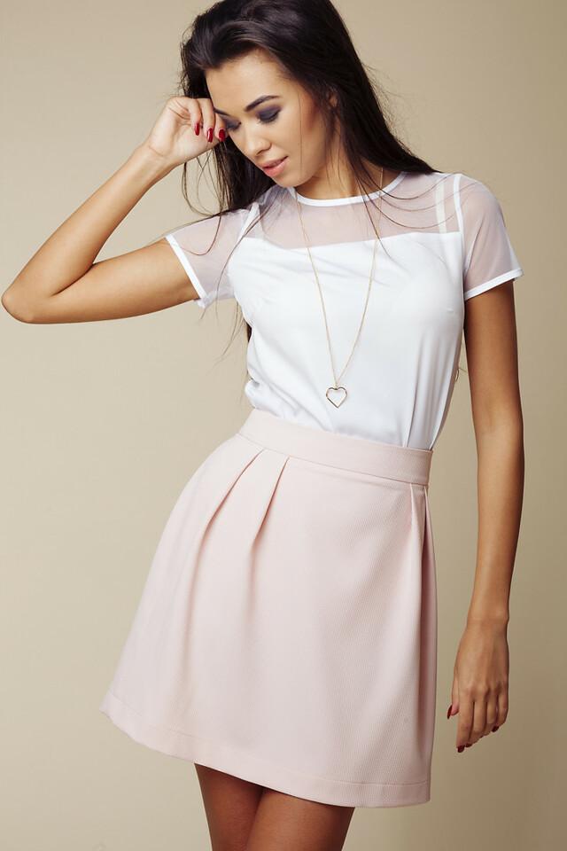 Dámská sukně 602 růžová - Ambigante - L - růžová