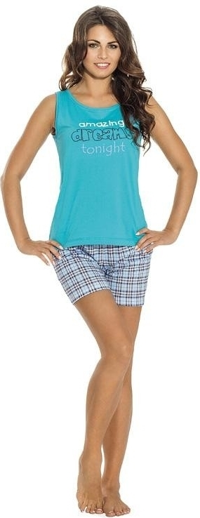 Dámské pyžamo 640 - Luna - S - šedá