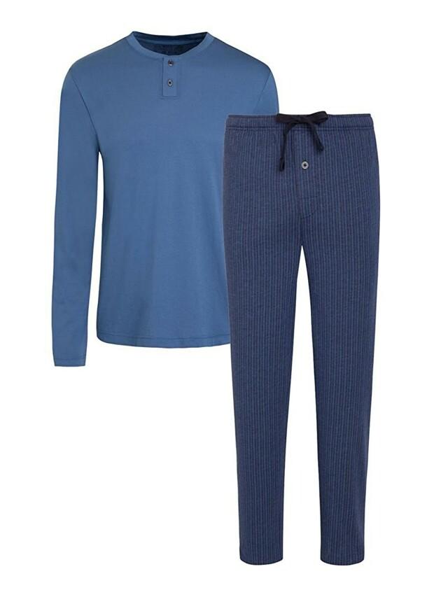 Pánské pyžamo 500009 - Jockey - XXL - modrá