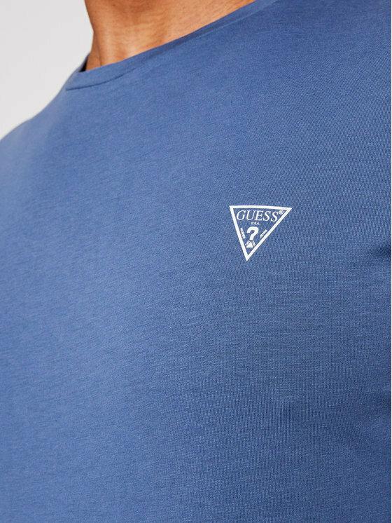 Pánské tričko U94M09K6YW1 - G7ER modrá - Guess - XL - modrá