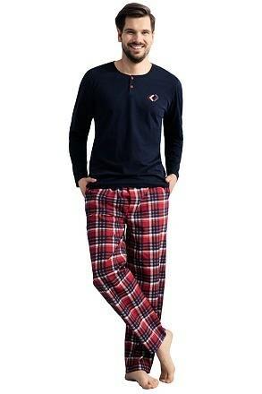Pánské pyžamo Josh modré