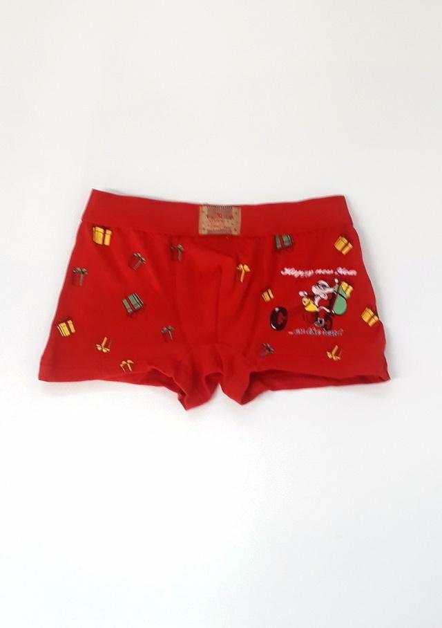 Chlapecké boxerky Gasolino R230 3 Červená - 3 - Červená